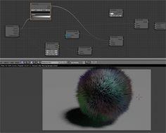 CYCLES / Hair! (Strand Info node) | Blender Sushi
