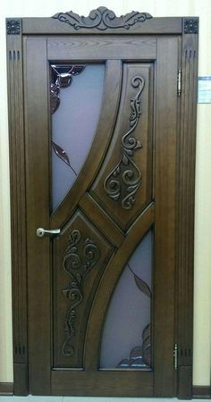Pantry Doors For Sale Front Door Design Wood, Door Gate Design, Wooden Door Design, Wood Front Doors, The Doors, Wooden Glass Door, Wooden Room, Bedroom Door Design, Door Design Interior