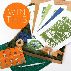 Did you miss out on an Adventure Awaits  #EmbellishBox?  I kept one behind specially. This adventurous giveaway includes three papercutting templates two cut and assemble tents backing papers from @paperstory_art fudge from The Fudge Station a climbing rope coaster from @hangingbyafred  a wooden compass from @cottagecoppicing and a sticker.  To enter the giveaway there are a few things you can do each one gives you more entries:  1. Grab your free papercut template at http://ift.tt/2flSA7C…