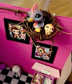 DIY Littlest Pet Shop House