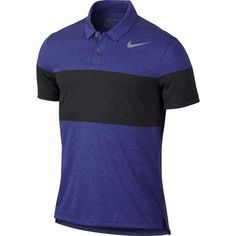 Nike Dry Transition Men's Slim Fit Golf Polo - Purple
