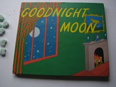 Vintage 1975 Classic Children's  Book- GOODNIGHT MOON by ScrapPantry, $6.00 USD