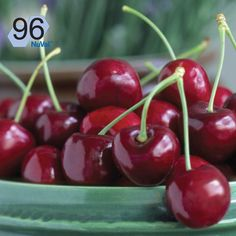 Cherries have a NuVal score of 96. The higher the NuVal score, the better the nutrition.