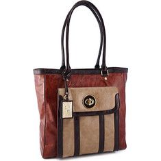 Koret Handbags NS Turnlock Pocket Tote KD55492