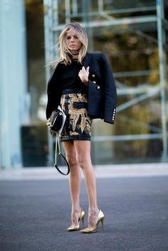 Mit diesem Outfit kommst du in jede VIP Party. Welcher Look ist sonst noch der richtige zur Party? #fridaynight #VIP
