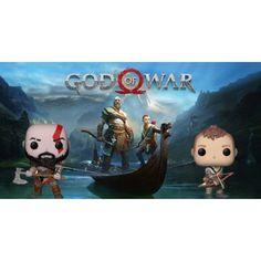 Figurine Funko POP Bundle Games God of War Kratos (Axe) + Atreus ge... Kratos Axe, Funko Pop, Bd Comics, God Of War, Manga, Geek Stuff, Christmas Ornaments, Games, Holiday Decor