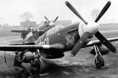 P-51 C/D Mustang w/ Greenhouse Canopy, Boxted, England