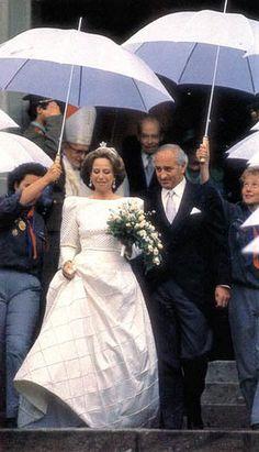 Vicente Sartorius y Cabeza de Vaca and Princess Nora of Liechtenstein