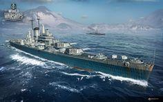 World of Warships - US Heavy Cruiser