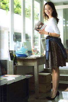licoricewall: 松島花 (Hana Matsushima): Oggi - cocolo chronicle | via Tumblr #beauty #松島花