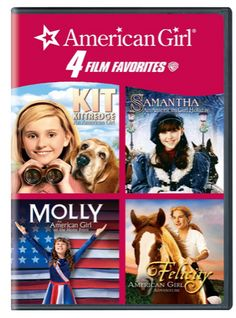 American Girl - 4 Film Favorites - Gift For Kids - A Thrifty Mom