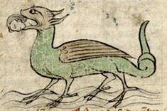 Medieval Bestiary : Crocodile Gallery