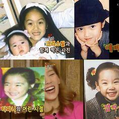 Girls' Generation's Taeyeon, Jessica and Tiffany's childhood photos revealed