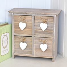 This set of drawers can go in any spot, in any room in the house. Keep in your kitchen and fill with baking nozzles or put it by your craft stash to keep all of your threads safe. This set also makes a really gorgeous gift when you're stuck for something special. 14.49Dimensions: 24cm x 24cm x 10cm