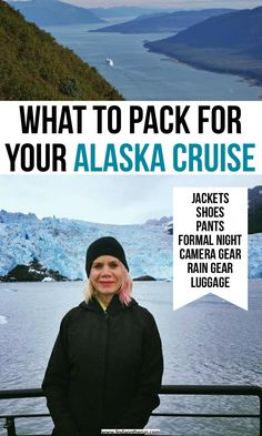 What to pack for your alaska cruise including jackets, shoes, pants, formal night Packing List For Cruise, Cruise Tips, Cruise Travel, Cruise Vacation, Travel Usa, Travel Tips, Travel Packing, Packing Lists, Vacations