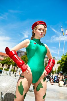 Cammy White, Street Fighter, Cosplay