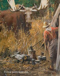 Not Just Wildlife Art of John & Suzie Seerey-Lester