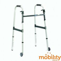 "Invacare - 6291-3F - Dual-Release Paddle Walker with 3"" Wheel"