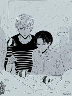 Levi and Farlan