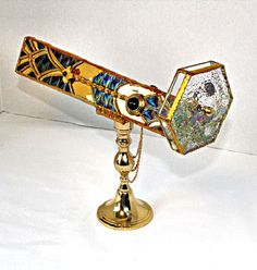 "Erte ""Cheetah"" Art Deco scope"