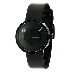 Fab.com | Vue Yves Watch Leather Black | $249