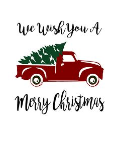 Red Truck and Tree Digital SVG file – Auntie Inappropriate Designs Christmas Red Truck, Merry Christmas, Christmas Vinyl, Christmas Holidays, Christmas Crafts, Christmas Printables, Christmas Wishes, Vintage Clipart, Stencils