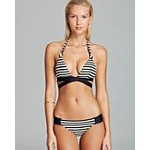 Vitamin A Sirena Wrap Bikini Top & Antibes Ruched Hipster Bottom