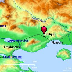 Bible Map: Philippi