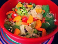 Rainbow Salad!