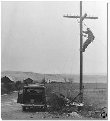Lineman from the good ol' days. Lineman Love, Power Lineman, Lineman For The County, Pole Climbing, Journeyman Lineman, My Better Half, Glass Insulators, Western Union, Electric Power