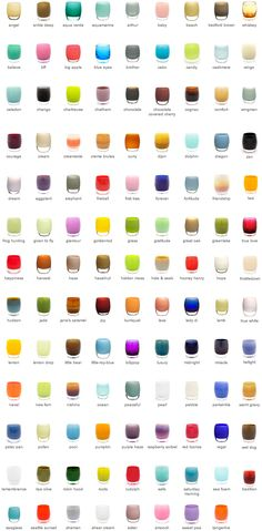 Glassybaby is a Seattle-based purveyor of hand blown glass votives that come in dozens of beautiful colors.
