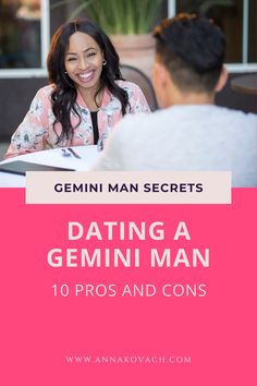 Whether you are already dating a Gemini man or considering dating one; here are some tips that may help you to figure out who you are dealing with. He has up sides and he has down side. I'm here to help you discover both.