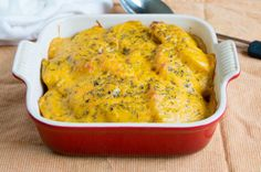 cheesy pumpkin scalloped potatoes recipe - Thanksgiving.com