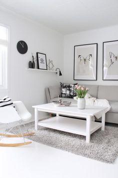 Black & White, Tags Schwarz + Ikea + Wohnzimmer + Weiß + ... Ikea Wohnzimmer Wei