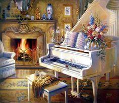 """EL RINCÓN DE MIS RELATOS :  """" PIANO SOLITARIO """" AQUÍ ESTÁ , ELEGANTE Y MELA..."""