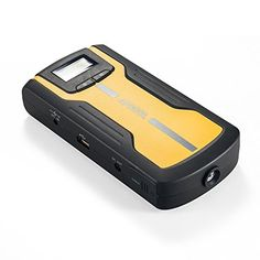 This may be the BEST Multi-Functional Car Jump Starter and Portable External Battery Charger on the market!