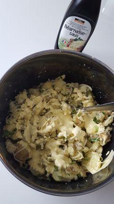 Gratinerte poteter med hvitløk, persille og bèarnaise – Snikgjest Risotto, Grains, Food And Drink, Rice, Snacks, Baking, Ethnic Recipes, Appetizers, Bakken