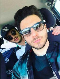 Gian and  brother Ernesto Twitter-IlVoloversInter