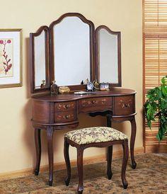 Vintage Bedroom Vanity Table : Repaint Bedroom Vanity Table – Modern Home Ideas