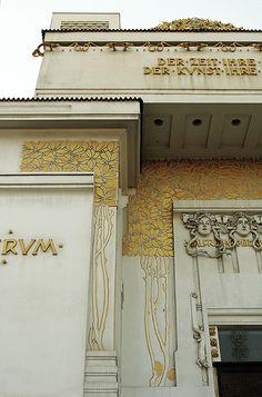 Viennese Secession Building, Vienna  Joseph Maria Olbrich, 1a897