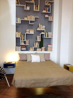 Fluttua Bed by Daniele Lago, Ghost room in Venice !!! | | Bedroom ...