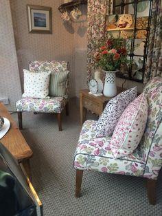 Emma Bridgewater Fabrics in collaboration with Sanderson