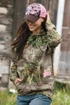 Realtree Girl Camo Hoodie Sweatshirt