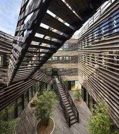 HOTEL D'ENTREPRISES INNOVANTES, Laval | Périphériques architectes - Jumeau + Marin + Trottin