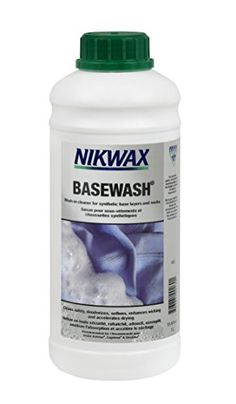Nikwax Base Wash -- More info could be found at the image url. Note:It is Affiliate Link to Amazon.
