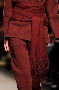 Couture in Burgundy
