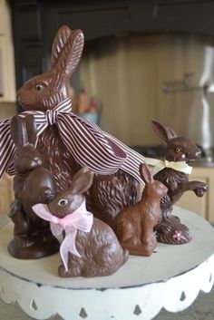 beautiful.quenalbertini: Easter rabbits
