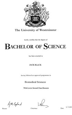 How to request an additional transcript. The cost is £ University Of Westminster, Biomedical Science, London