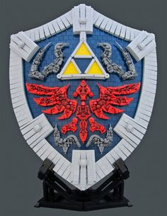 *The Legend of Zelda: Twilight Princess Hylian Shield Built From LEGOs - http://laughingsquid.com/the-legend-of-zelda-twilight-princess-hylian-shield-built-from-legos/?utm_source=feedburner_medium=feed_campaign=Feed%3A+laughingsquid+%28Laughing+Squid%29