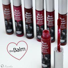 Tekuté matné rúže s nádhernou mentolovou vôňou! Pre nás určite jeden z Top produktov od značky theBalm.